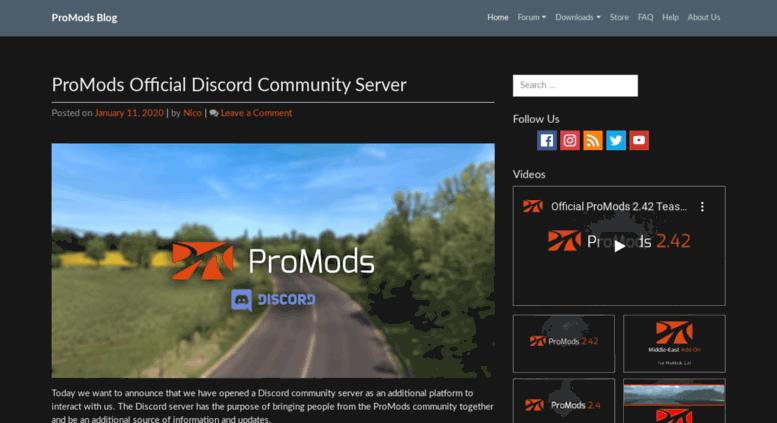 Promods Download