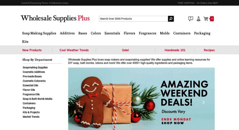 Access blog wholesalesuppliesplus com  Wholesale Soap Making