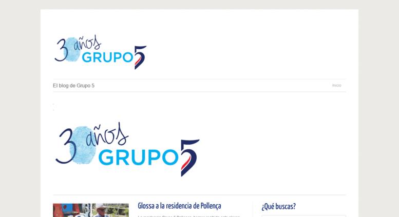 Access blogs grupo5 net  El blog de Grupo 5 | Acción y