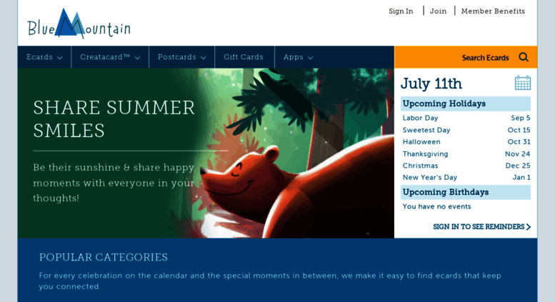 Access Bluemountain Free ECards Greeting Cards