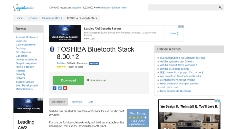 Toshiba bluetooth driver download and update youtube.