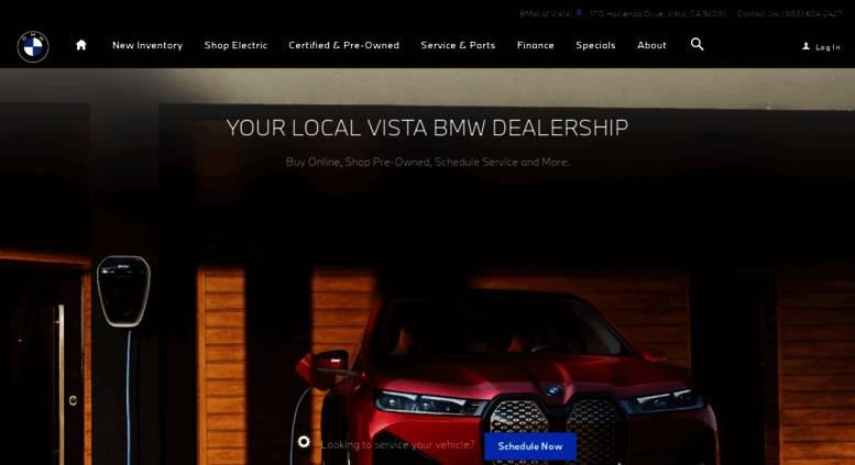 Bmw Dealership Near Me >> Access Bmwofvista Com Bmw Of Vista Bmw Dealership Near Me
