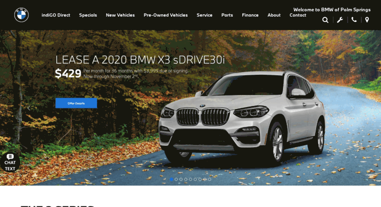 Bmw Dealership Near Me >> Access Bmwps Com New Pre Owned Bmw Cars Palm Springs