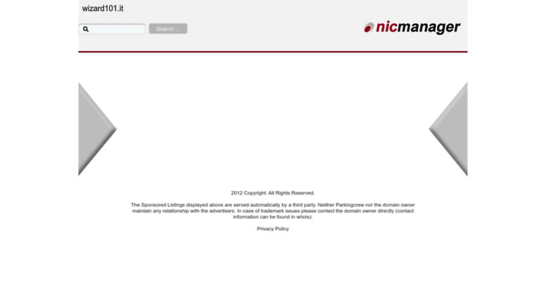 Access board wizard101 it  Wizard101