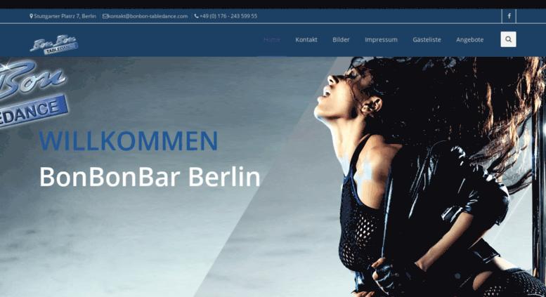 access bonbonbar bonbonbar berlin tabledance the party location home. Black Bedroom Furniture Sets. Home Design Ideas
