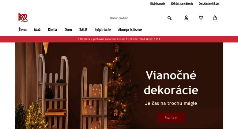 Access bonprix.sk. bonprix • Internetový obchod • Odevy dámske ... 8058bea5773