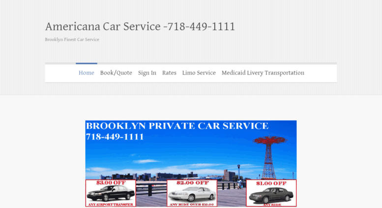 Bensonhurst Car Service >> Access Book Nyc Limo Com Brooklyn Car Service Americana