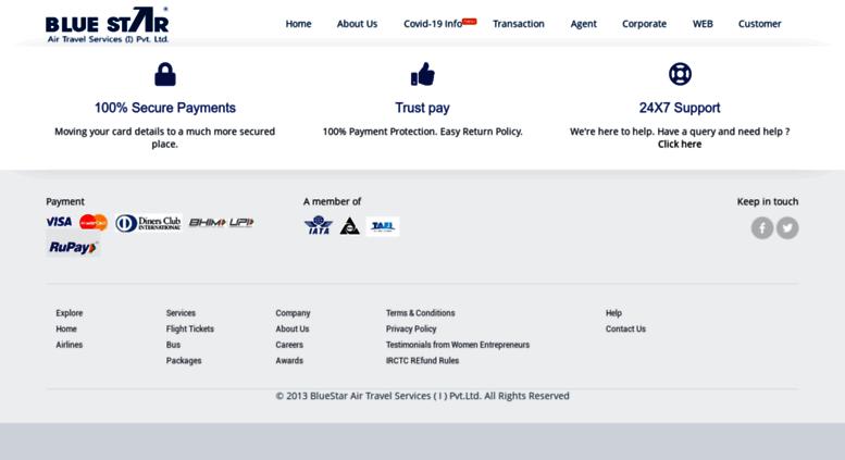 Access bookonbluestar com  Cheap International Flight Bookings, Best