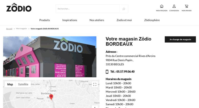 Access Bordeaux Zodio Fr Magasin Deco Bordeaux Zodio Horaires