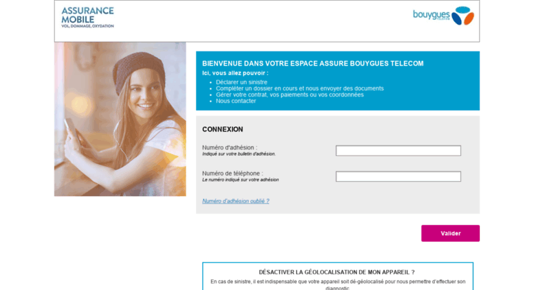 Access Bouyguestelecom Spb Eu Assurance Mobile Bouygues Telecom