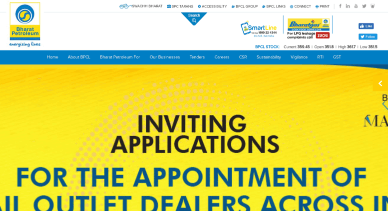 Access bpcl in  Oil and Gas Companies in India | Corporate