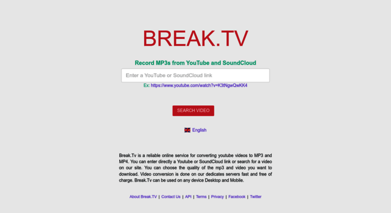Access break tv  Break tv - Youtube To Mp3 Converter and Video MP4