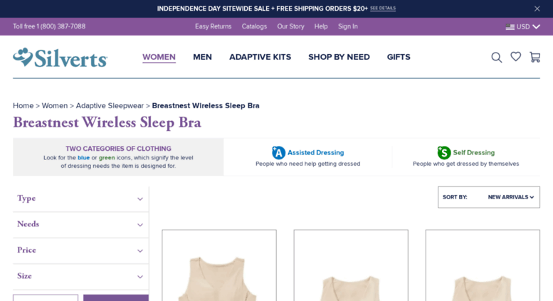 1b6cb7ed0e8 Access breastnest.com. Bra Alternatives - Sleep Bras   Plus Size Bras