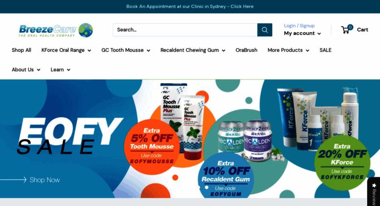 Bad Breath Treatment >> Access Breezecare Com Bad Breath Cure Halitosis Treatment