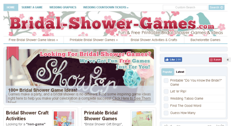graphic about Free Printable Bridal Shower Games and Activities titled Arrive at . Bridal Shower Video games ~ No cost