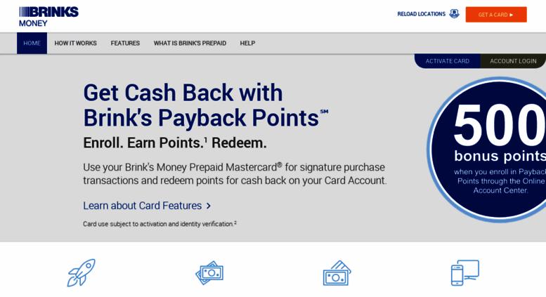 Access brinksprepaidmastercard com  Brink's Prepaid Mastercard