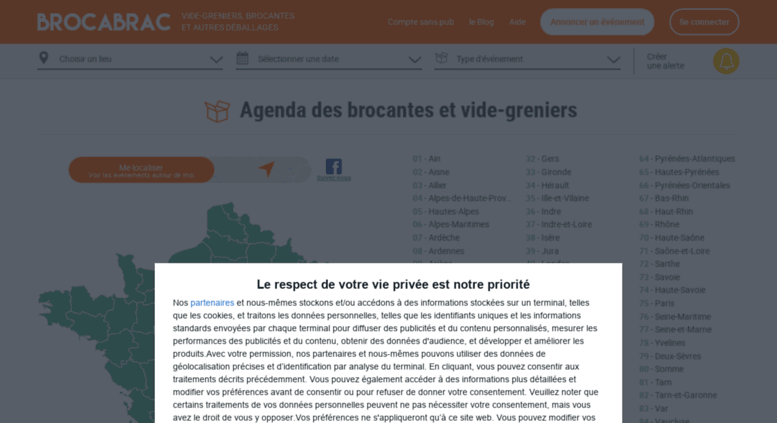 Calendrier Des Vide Greniers.Access Brocabrac Fr Agenda Brocante Vide Grenier Puces
