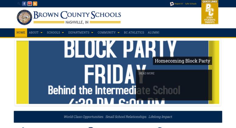 Access brownco k12 in us  Brown County Schools   Nashville