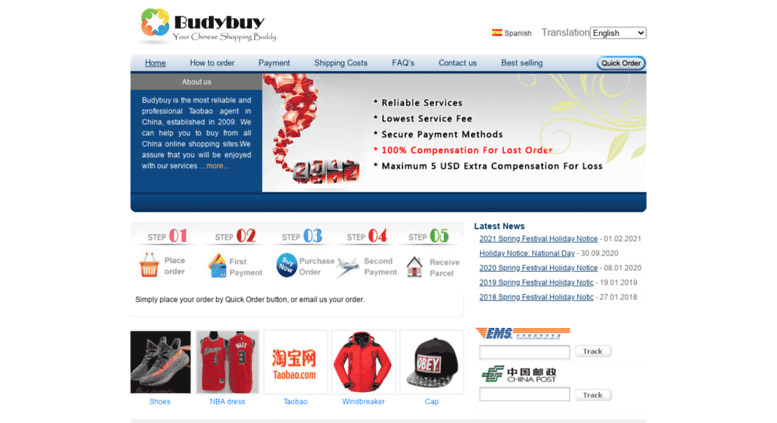 Access budybuy com  Taobao Agent 1688 Buy From China And
