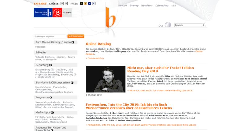 Access Buechereienwienat Startseite Büchereien Wien
