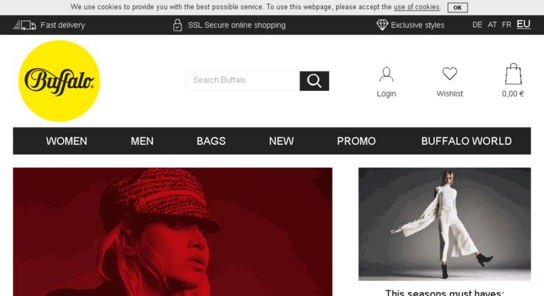 e3d5b9d72e Access buffalo-shop.be. BUFFALO® Online Shop - Discover amazing ...