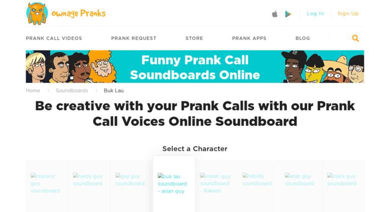 Access buklau com  Buk-Lau Soundboard: Asian Character by