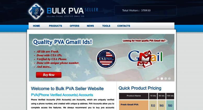 Access bulkpvaseller us  Buy Gmail Accounts, Buy PVA Gmail