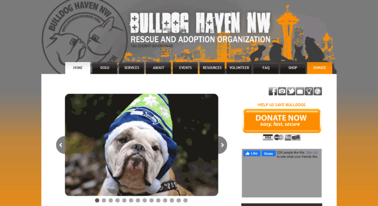 Access bulldoghavennw org  BHNW - Bulldog Haven NW - English