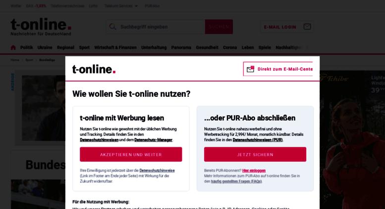 Access Bundesliga T Online De Bundesliga 2018 2019 Alle