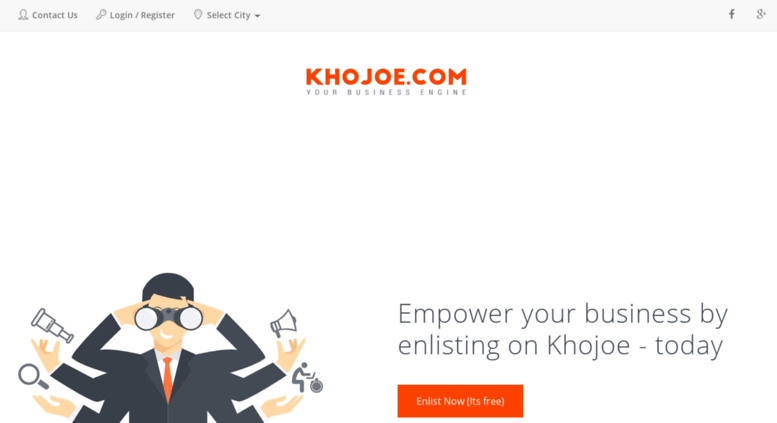 Access business khojoe com  Get a local business now, Search