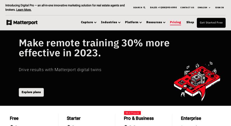 Access buy matterport com  Matterport   3D for the Real World