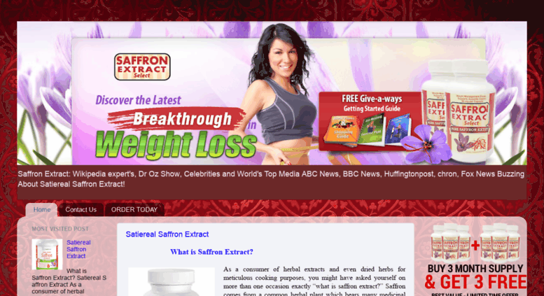 Access Buysaffronextracts Blogspot In Buy Satiereal Saffron Extract
