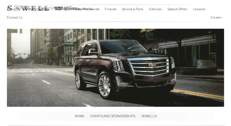 Sewell Cadillac Dallas >> Access Cadillacdallas Sewell Com Experience Sewell Cadillac