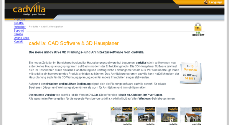 Access Cadvilla At 3d Hausplaner Cad Software Zur Hausplanung