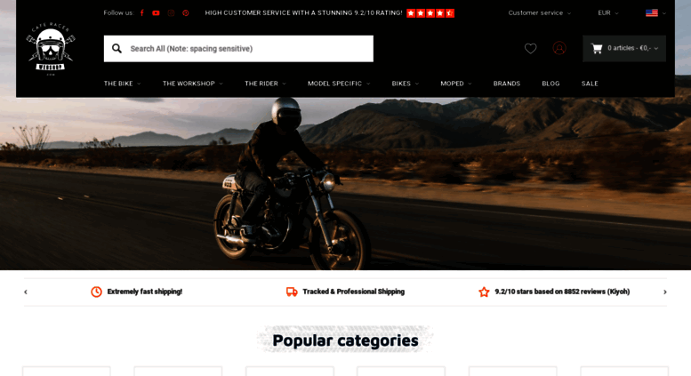 access caferacerwebshop. caferacerwebshop | your one-stop