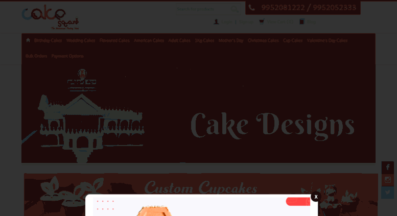 Access Cakesquarechennaimyshopify Best Cake Shop In Chennai