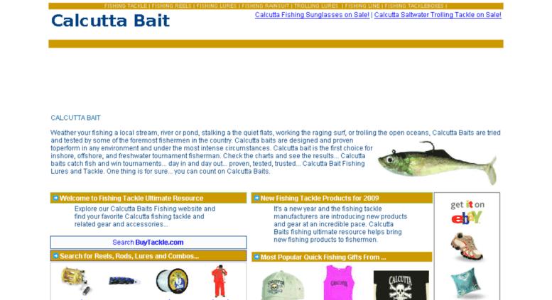 Access calcuttabait com  Calcutta Bait Fishing Tackle