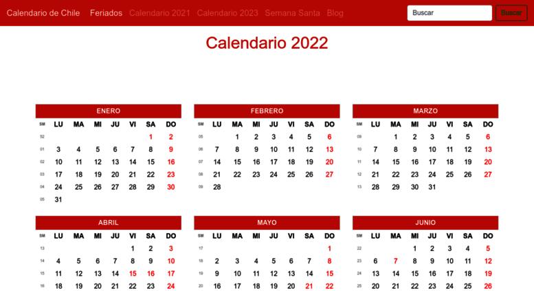 Calendario Chile 2020.Access Calendariochile Com Calendario 2019 Feriados Del