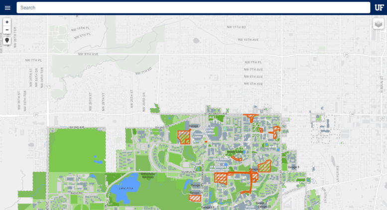 map of uf campus Access Campusmap Ufl Edu Uf Campus Map map of uf campus