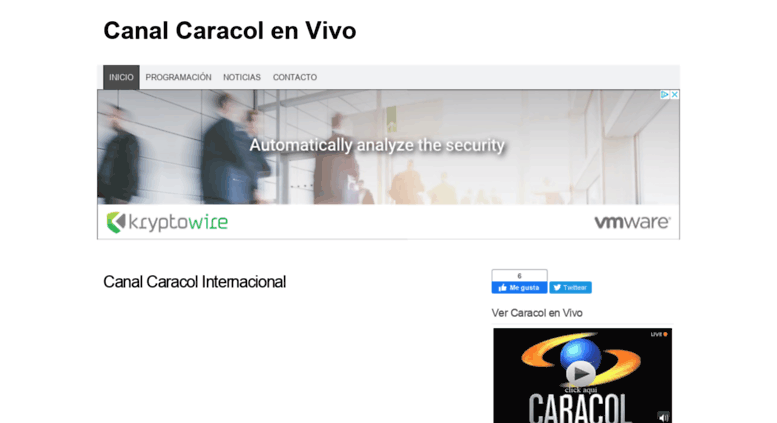 Access canalcaracolenvivo com co  TV Caracol On Line Gratis