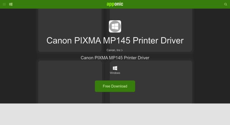 Canon pixma mp140 / mp145 driver download – windows, mac os, linux.