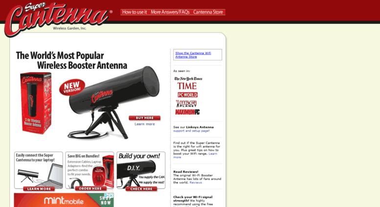 Access cantenna com  Wifi Antennas | WiFi Antenna Booster