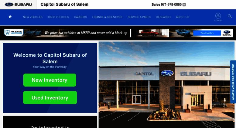 Capitol Subaru Salem Oregon >> Access Capitolsubaru Com Capitol Subaru Of Salem In Salem Or