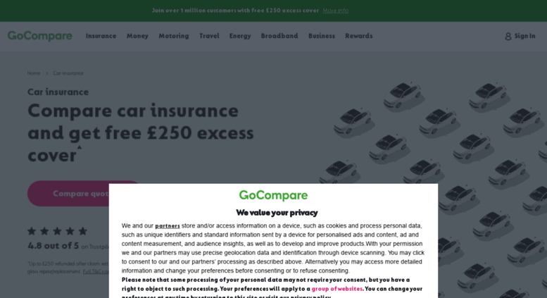 Access Car Gocompare Com Compare Cheap Car Insurance Quotes At