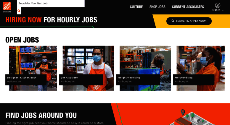 Access Careers Homedepot Com The Home Depot Jobs Jobs At Home