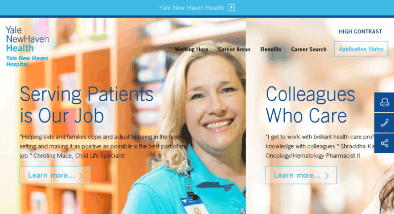 Access careers ynhh org  Careers - Yale New Haven Hospital