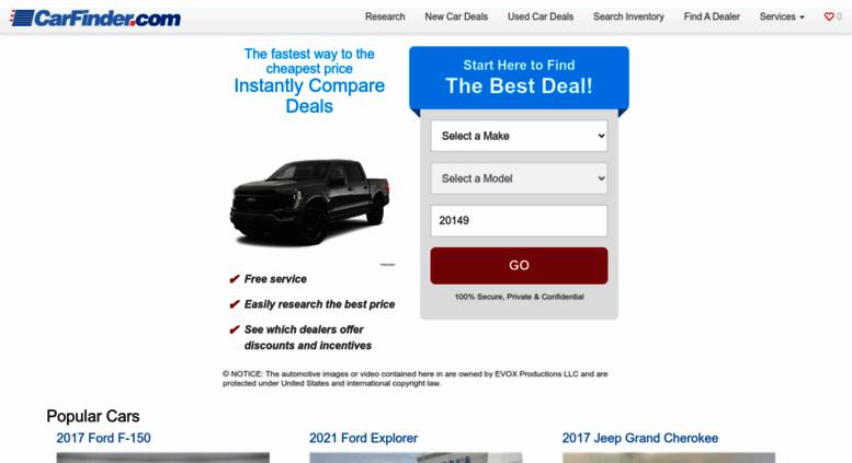 Access Carfinder Com Carfinder Com