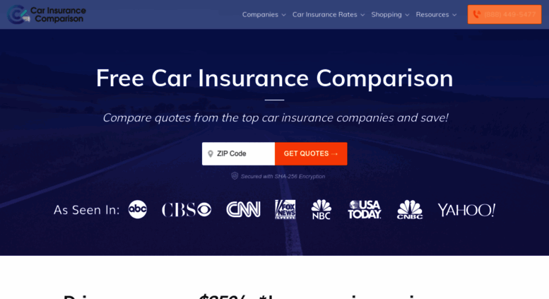Compare Car Insurance Quotes From Different Companies >> Access Carinsurancecomparison Com Car Insurance Comparison