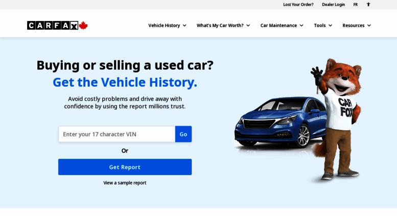 Access Carproof Com Canadian Vehicle History Reports Carfax Canada
