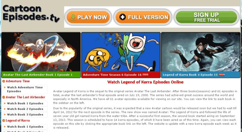 Access cartoonepisodes tv  Watch Cartoons Online